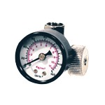 K Tool International 89193 - Air Regulator 1/4 With Gauge
