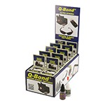 K Tool International 90003 - 10 Pack of Q-Bond Adhesive Kit With Display