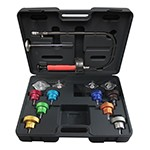 Mastercool 43300 - 14-PC Universal Cooling System Pressure Test Kit