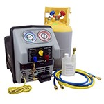 "Mastercool 69360-22 - Twin Turbo AC Recovery Machine for Refrigeration Trucks ""Refer Units"""