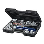 Mastercool 71650-A - Tube Expanding Tool Kit (10 Head Kit)