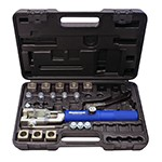 Mastercool 72300 - 45° Push Connect & Double Flaring Hydra-Flare Tool Set