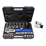 Mastercool 72485-PRC - Complete Universal Hydraulic Flaring Tool Set with Tube Cutter