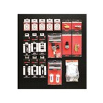 Milton Industries S-FRL - Milton 2' X 2' Pegboard Overlay With Filters, Regulators, And Lubricators