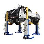 Atlas Equipment ML-4030BC - 66,000 LB. ALI Certified Battery Powered Mobile Column Lift System
