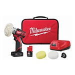 Milwaukee 2438-22X - M12 Variable Speed Cordless Polisher/Sander With 5-PC Accessory Kit