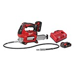 Milwaukee 2646-22CT - M18 2-Speed Cordless Grease Gun Kit (2 Batteries)