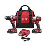 Milwaukee 2691-22 - M18 Cordless Drill/Driver & Impact Wrench 2-Tool Combo Kit
