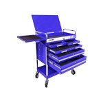 Sunex Tools 8045BL - Blue Heavy Duty 5-Drawer Service Tool Cart