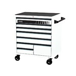 Sunex Tools 8060WH - White Premium 8 Drawer Service Carts (41