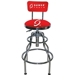 Sunex Tools 8516 - Red/Chrome Hydraulic Shop Stool