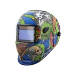 Titan Tools  41278 - Auto Darkening Solar Powered Welding Helmet - Pirate Graphics