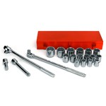 Wilmar W1180 - 16pc 3/4 Dr Socket Set