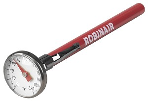 "Robinair 10597- 1"" Dial Thermometer"