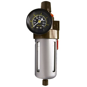 "Astro Pneumatic 2615 - 3/8"" NPT Filter With Regulator And Gauge"
