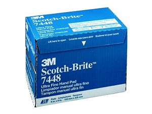 3M Automotive 7448 - Gray Scotch Brite Ultra Fine Pad