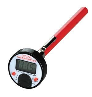 "Mastercool 52223-A - 1"" Pocket Digital Thermometer"