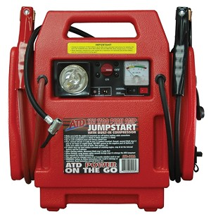 ATD Tools 5926 - 12v 1700 Peak Amp Jump Start With Built-in Air Compressor