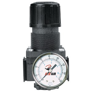 ATD Tools 7843 - Standard 1/4 NPT Air Regulator with Gauge, 50 SCFM
