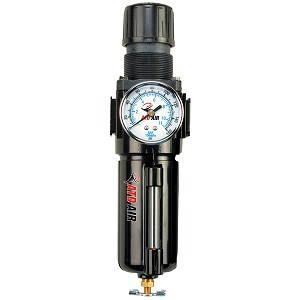 ATD Tools 7854 - Metal Filter, Regulator and Gauge Combination Unit with Manual Drain