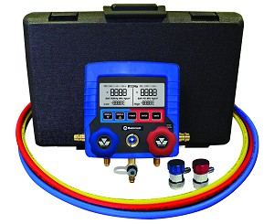 Mastercool 99860-A - Digital R134a Manifold With Hoses & Couplers