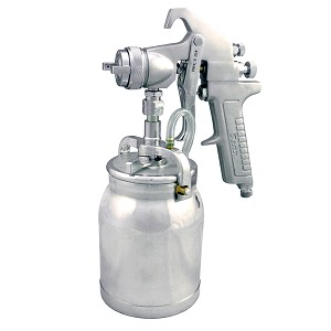 Astro Pneumatic AS8S  -Siphon Feed Spray Gun with 1-Quart Aluminum Cup and 1.7mm Nozzle