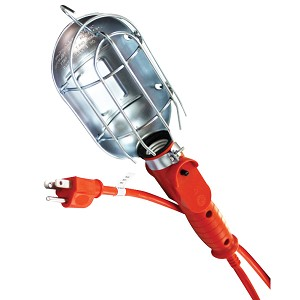ATD Tools 80075 - Heavy Duty Incandescent Utility Light With 25 Cord