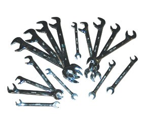 ATD Tools 1182 - 16 Pc. Metric Full Polish Angle Wrench Set