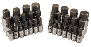 ATD Tools 13783 - 32 pc. Master Hex Bit Socket Set