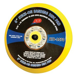 ATD Tools 2078 - Stick-on Sanding Disc Pad