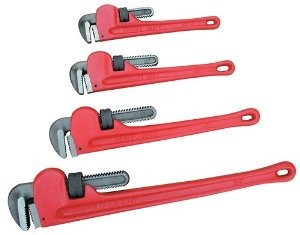 ATD Tools 625 - 4 Pc. Heavy-Duty Pipe Wrench Set