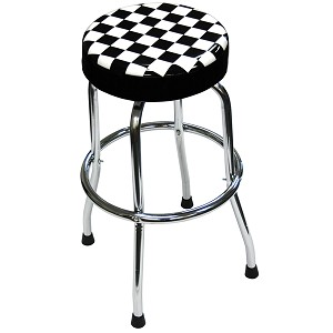ATD Tools 81055 - Shop Stool with Checker Design