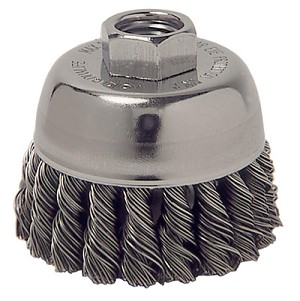 "ATD Tools 8228 - 2-3/4"" Knot Wire Cup Brush"