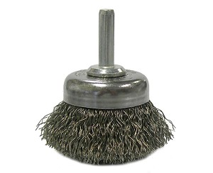 "ATD Tools 8258 - 1-3/4"" Utility Crimped Wire Cup Brush"