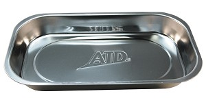 ATD Tools 8761 - Stainless Steel Magnetic Parts Tray - Rectangle