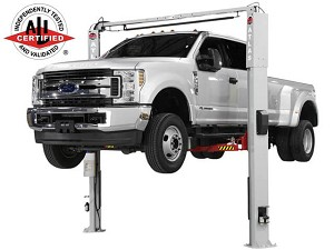 Atlas Equipment AP-PVL10 - Platinum 10,000 Lbs. Adjustable Height 2 Post Overhead Car Lift (ALI Certified)