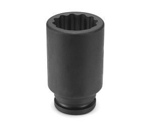 "Grey Pneumatic 3124D - 3/4"" Drive x 3/4"" Deep - 12 Point Impact Socket"