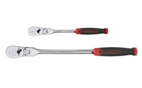 "GearWrench 81204F - 2 Piece Flex Ratchet Set with Cushion Grip Handles (1/4"", 3/8"")"