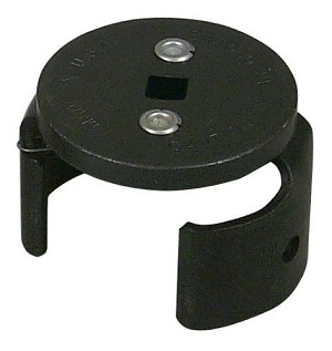 Lisle 63600 - Import Car Oil Filter Wrench 2-1/2 to 3-1/8in
