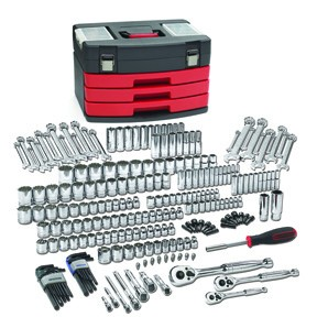 GearWrench 80934 - 239 pc. SAE/Metric 6&12 Pt. Mechanics Tool Set Multi Drive